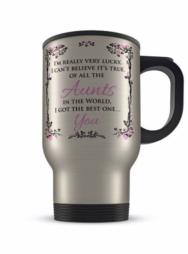 14oz Of All The.. In The World I Got The Best One... You Aluminium Travel Mug